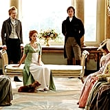 """I declare after all there is no enjoyment like reading! How much sooner one tires of any thing than of a book! When I have a house of my own, I shall be miserable if I have not an excellent library.""  — Miss Bingley, Pride and Prejudice"