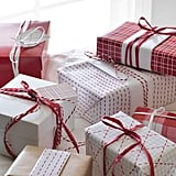 Vinter 2019 Red and White Gift Wrap Rolls
