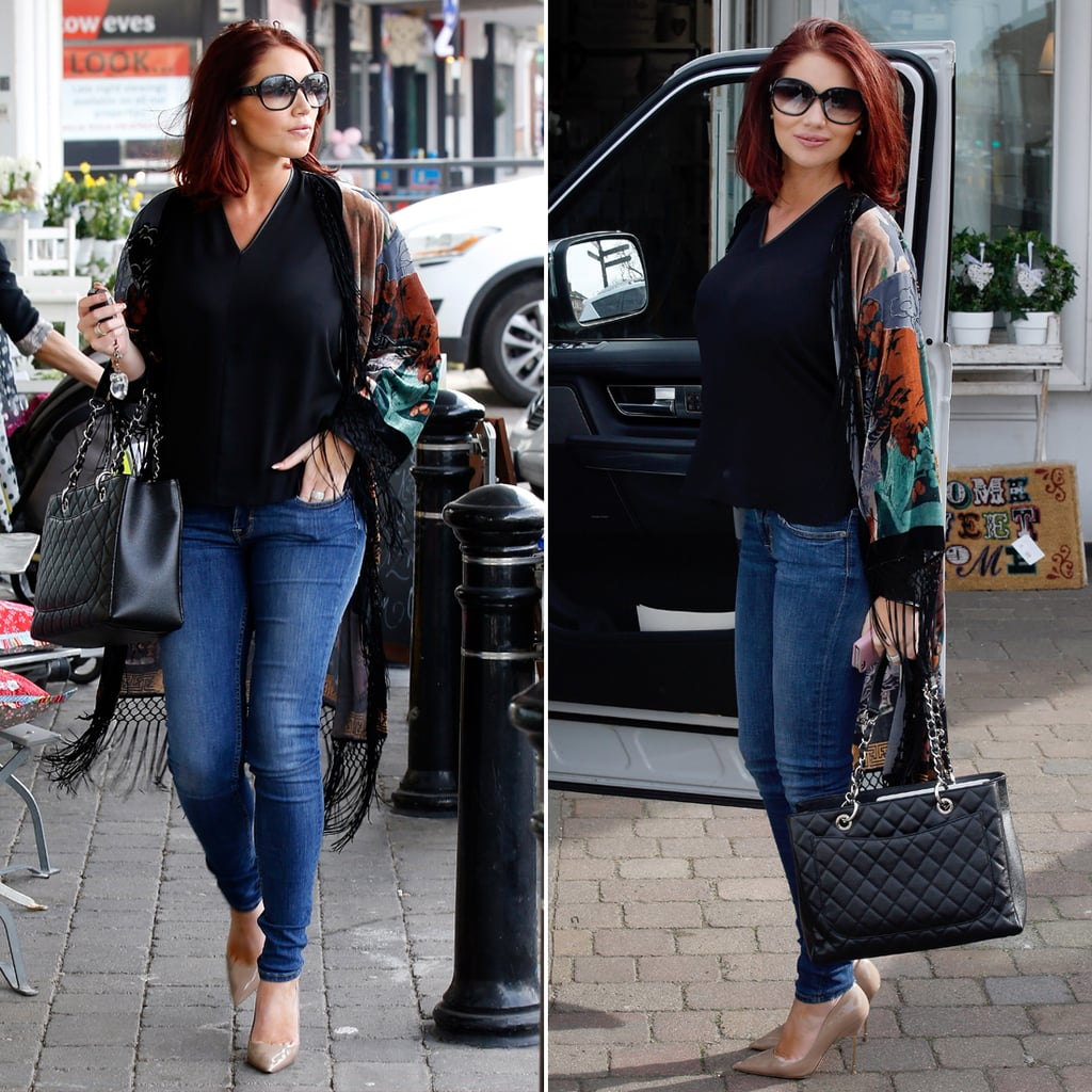 Amy Childs's Casual Style