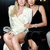 Pictured: Maryna Linchuk and Irina Shayk