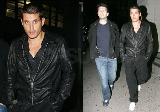 Photos of John Mayer and His Brother at Nobu and La Esquina in NYC