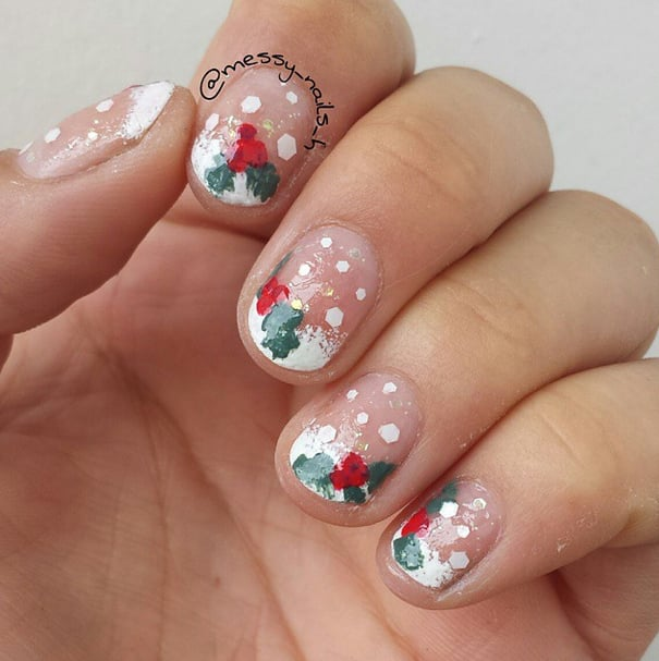 Christmas Nail Art Gallery: DIY Christmas Themed Manicures