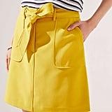 Loft Tie Waist Shift Skirt