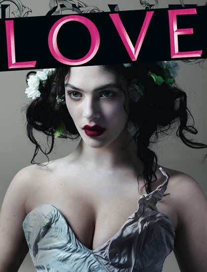Downton Abeey's Lady Sybil on the Cover of LOVE Magazine Issue 8