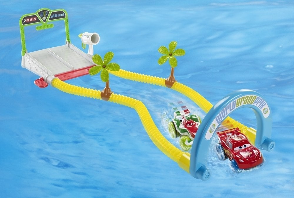 Cars World Grand Prix Splash Speedway Track Set