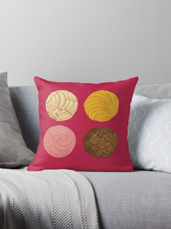 Plush cushions to brighten up your couch or love seat.Conch Throw Pillow ($21)