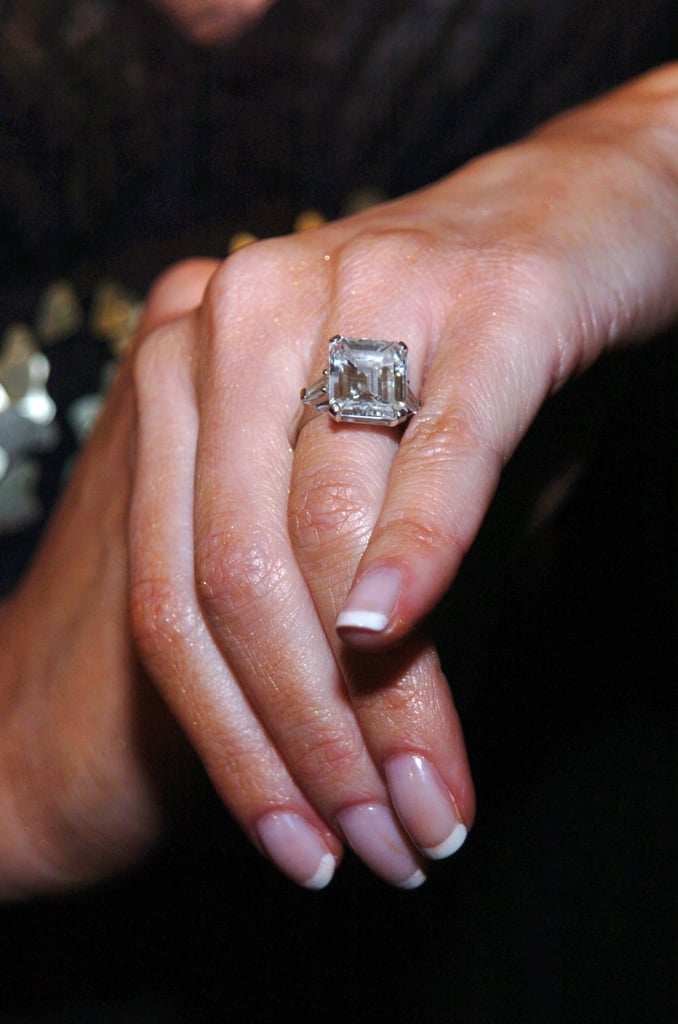 Melania Trump's 10-Year Anniversary Diamond Ring