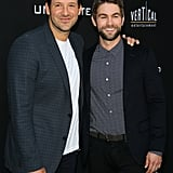 Chace Crawford Hangs With Brother-in-Law Tony Romo on the Red Carpet