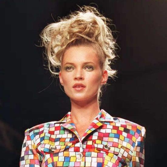 1995: Walking at London Fashion Week