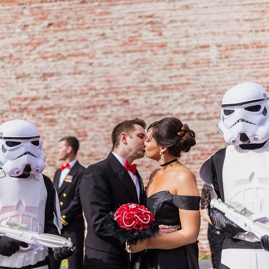 Glam Star Wars Wedding Ideas