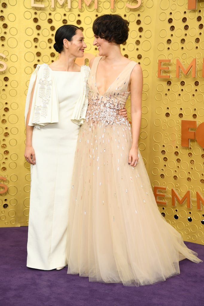 Sian Clifford and Phoebe Waller-Bridge at the 2019 Emmys
