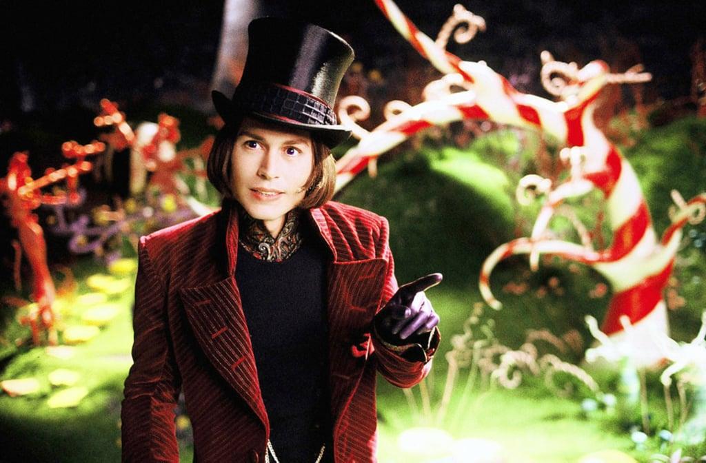 Johnny Depp's Willy Wonka Costume