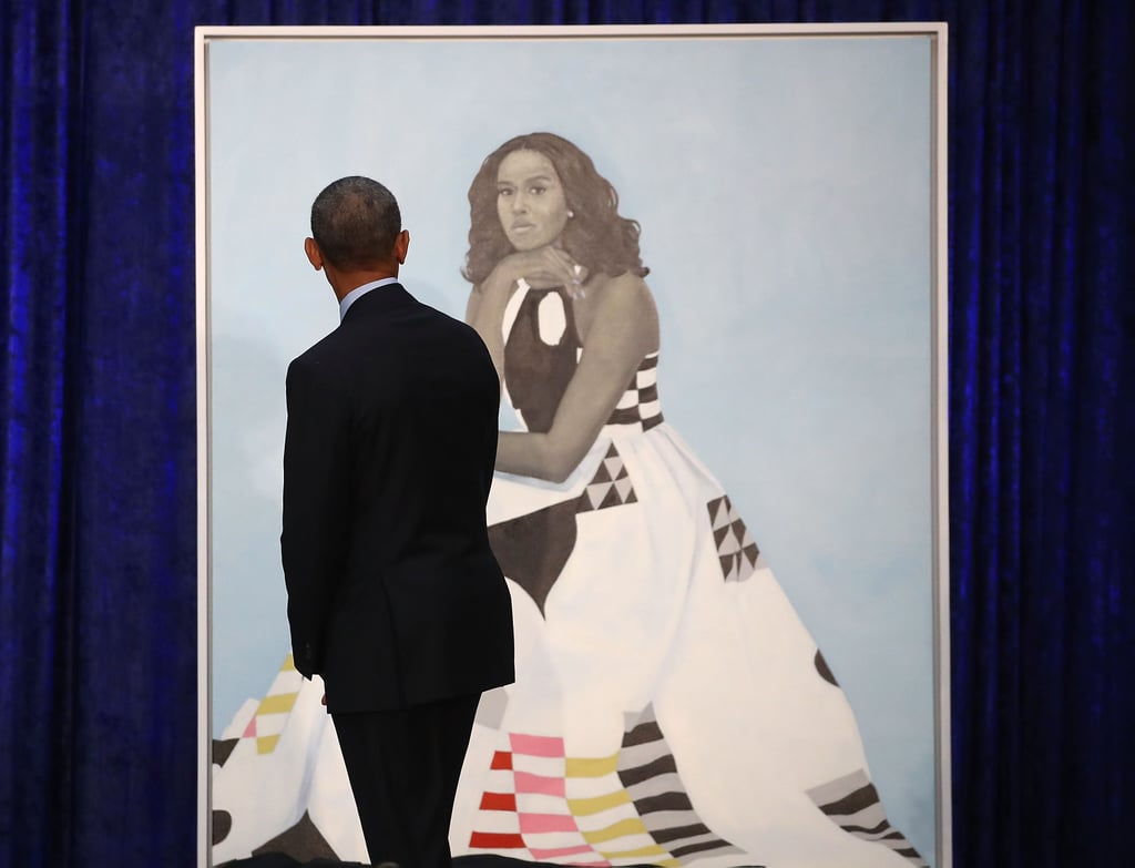 Who Painted Barak Obama S Official Portrait