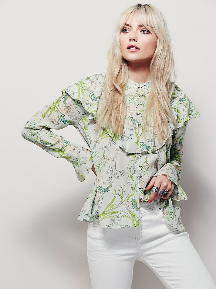 Victorian-Style Tops For Spring