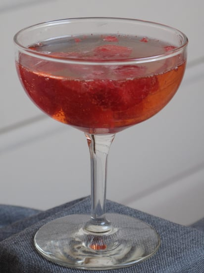 Raspberry Champagne Cocktail Recipe