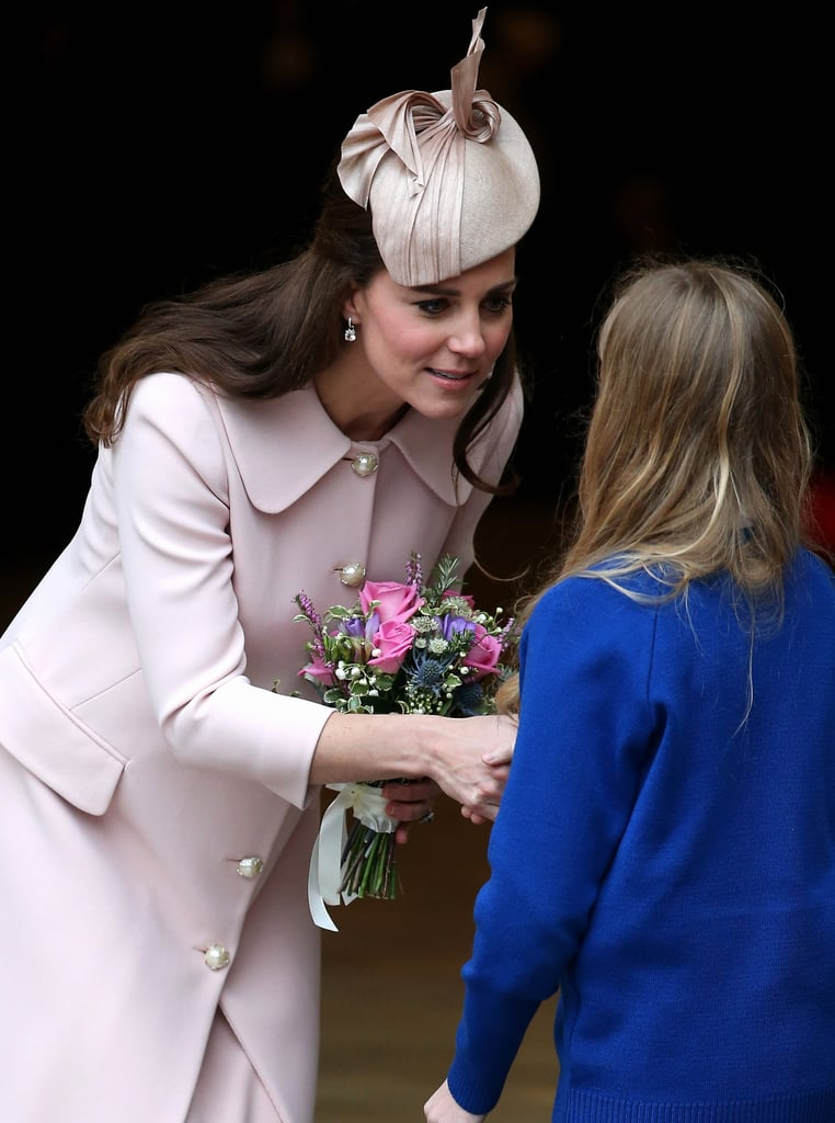 Kate's First Commonwealth Day Service