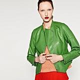 Zara Faux Leather Jacket ($100)