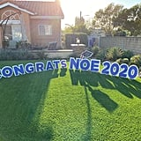 """Congrats"" Graduation Yard Sign"