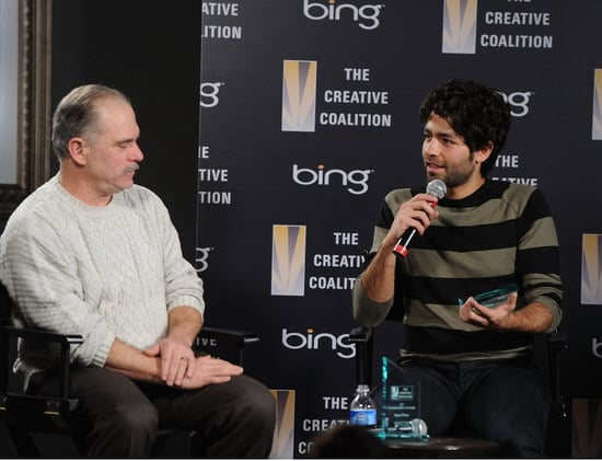 Pictures of Adrian Grenier and Jeremy Piven at 2011 Sundance Event