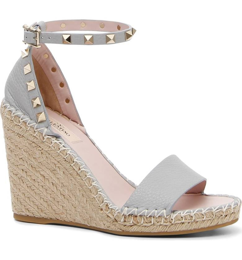 88582e69526 Valentino 'Rockstud' Espadrille Wedges | Best Espadrilles For Summer ...