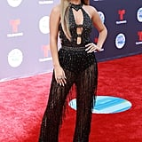 Becky G at the 2018 Latin American Music Awards