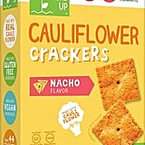 Real Food From the Ground Up Nacho Cauliflower Crackers