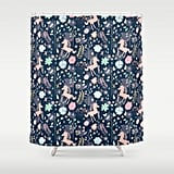 Society6 Unicorn Shower Curtains