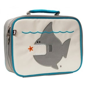 Cue the Jaws theme song and take a bite out of lunchtime with Beatrix's Nigel the Shark Lunchbox ($34).