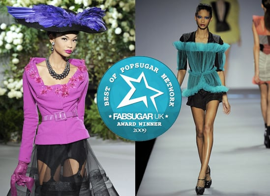 Catwalk Photos of Chanel Iman from 2009