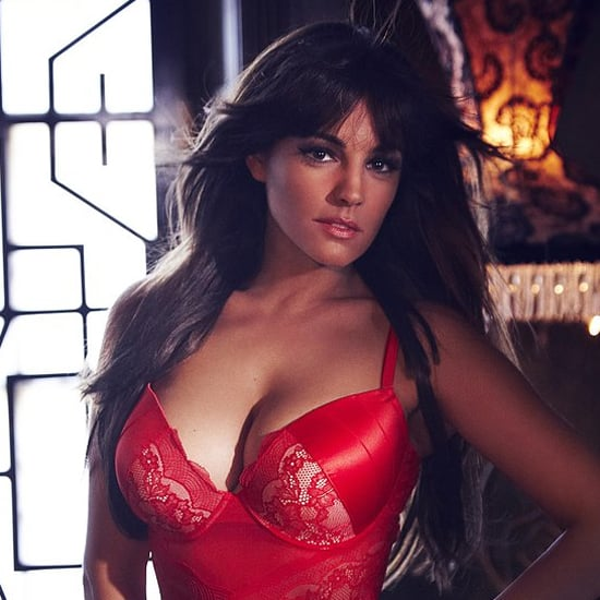 brook red lingerie Kelly