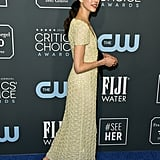 Margaret Qualley at the 2020 Critics' Choice Awards