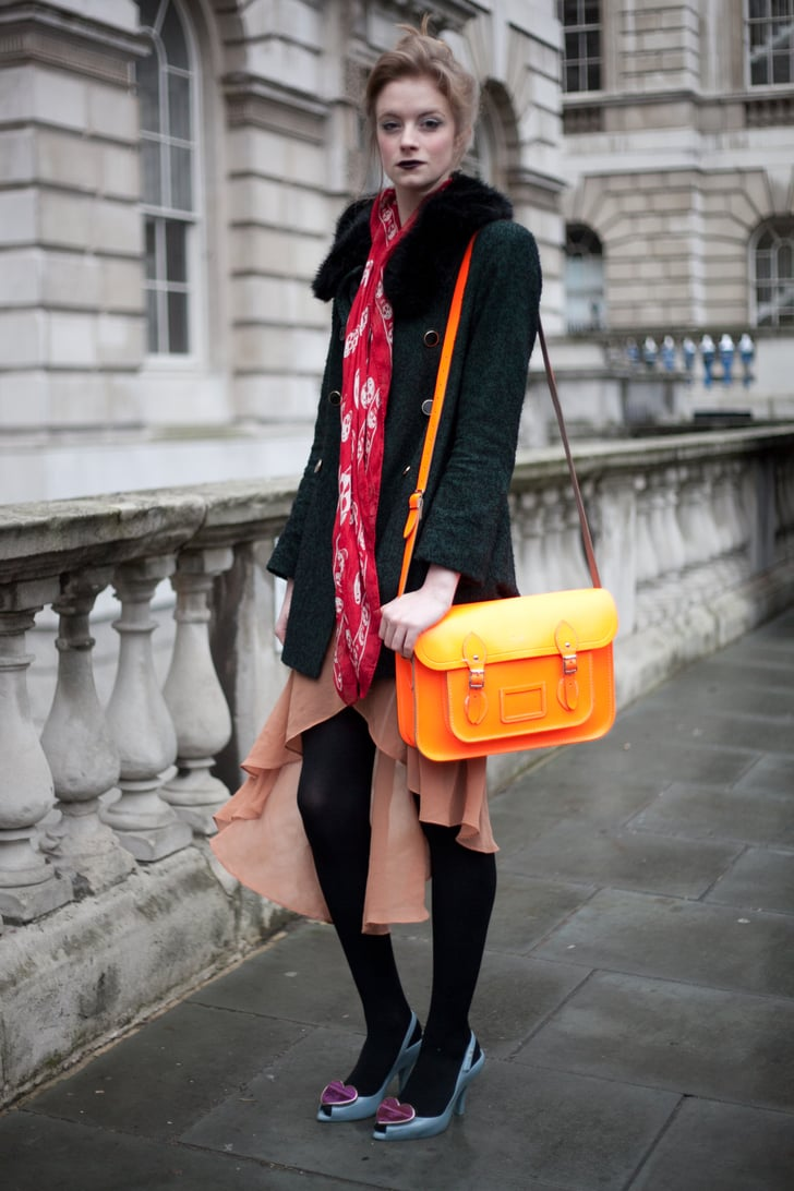 London Fashion Week Fall 2012 Street Style Popsugar Fashion