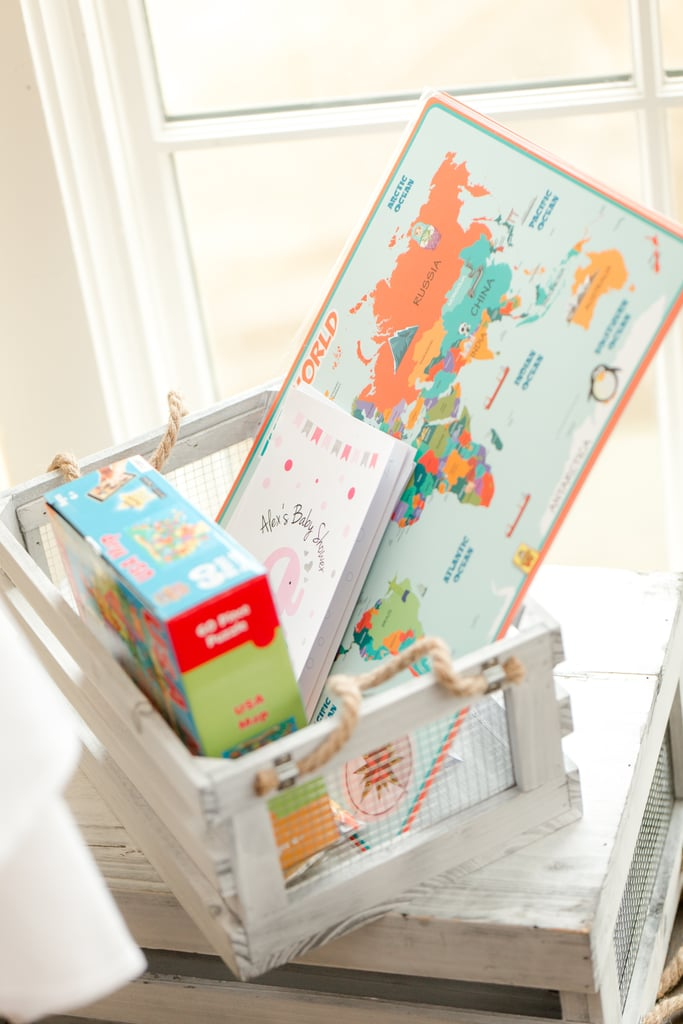 Travel-Themed Baby Shower