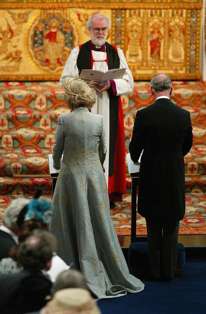 "Charles and Camilla were blessed by the Archbishop of Canterbury during the Service of Prayer and Dedication at Windsor Castle. The Queen and Prince Philip chose not to attend the civil marriage; it was reported that because the Queen ""does take her role as Supreme Governor of the Church of England very seriously,"" she felt it would ""be inappropriate to attend that particular part of the wedding."" Charles's parents did attend the religious blessing and host a reception after.       Related:                                                                                                           How Well Do The Queen and Camilla Actually Get Along?"
