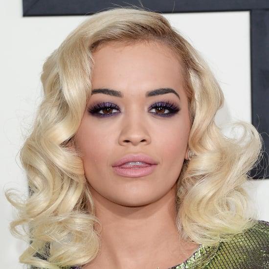 Rita Ora's Hair and Makeup at the Grammys 2014