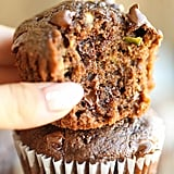 Double Chocolate Chip Zucchini Muffins