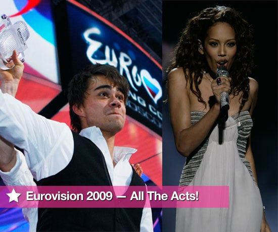 Photos And Videos Of All The Performers From 2009 Eurovision Song Contest