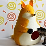 MeowFelt Yellow Fox Cat Bed