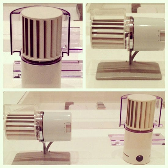 Desk fans designed by Reinhold Weiss for Braun.
