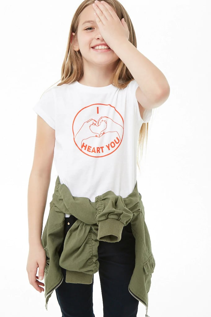 """I Heart You"" Graphic Tee"