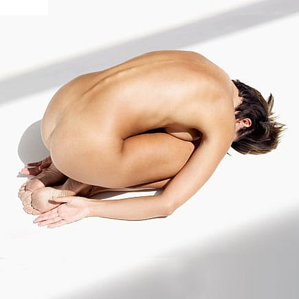 Naked Yoga Stock Photos