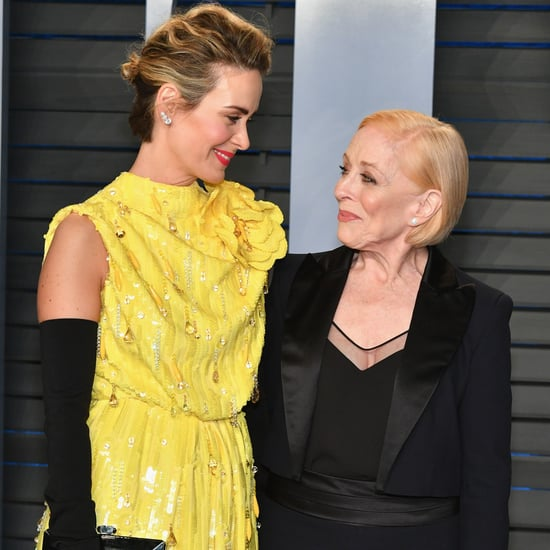 Holland Taylor and Sarah Paulson at Oscars Afterparty 2018