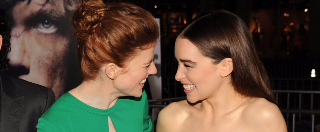 Is Emilia Clarke Frieneds With Rose Leslie?