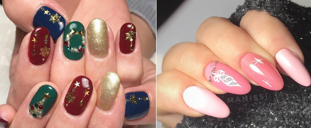 Christmas and Festive Nail Art Ideas
