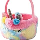 Fuzzy Unicorn Easter Basket