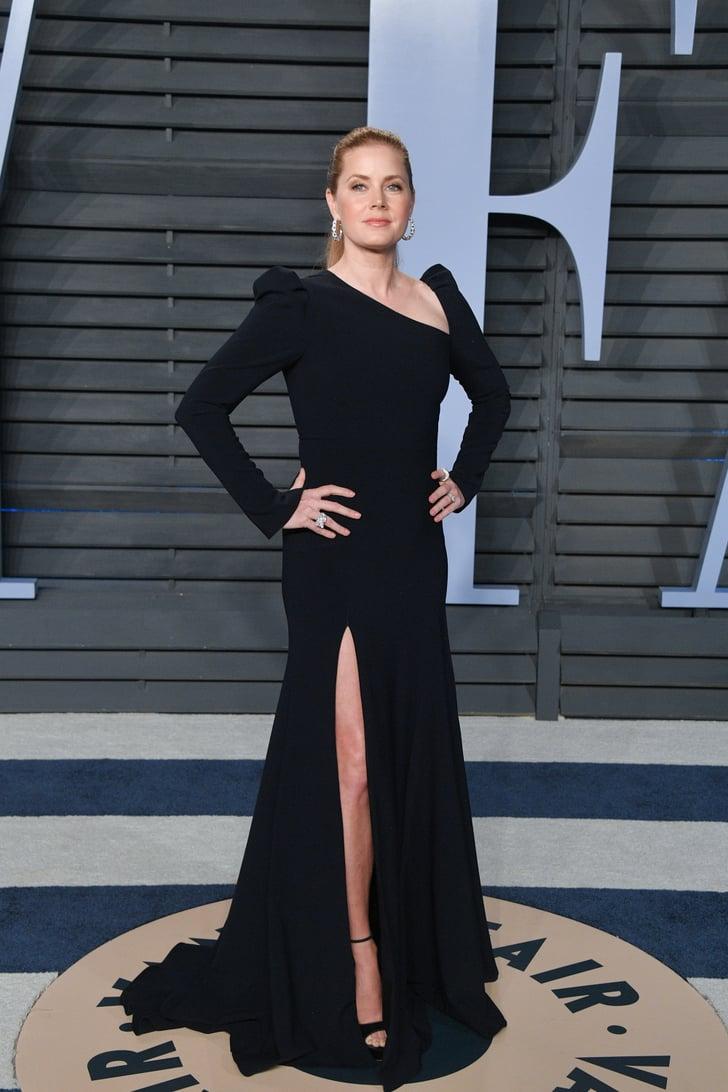 Amy Adams Vanity Fair Oscars Party Dresses 2018