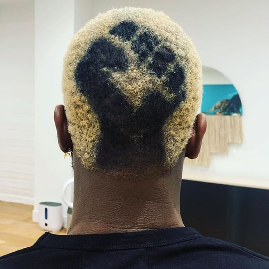 Dwyane Wade's Black Lives Matter Hair Colour