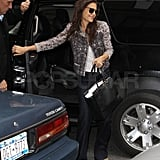 Frequent Flier Katie Holmes Visits the Big Apple While Tom Rocks Miami