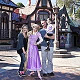 Sarah Michelle Gellar and Freddie Prinze Jr. took their daughter, Charlotte, to Disneyland in March 2013.