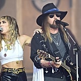Miley Cyrus, Billy Ray, Lil Nas X at Glastonbury 2019 Video